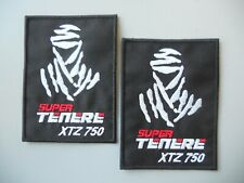 PATCH TUAREG DAKAR SUPER TENERE XTZ 750 RICAMATA TERMOADESIVA CM.7X9-PZ.2