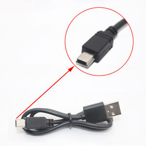 5x USB 10pin Sync Data Transfer Charging Cable/Cord/Lead A Male to Mini B Male