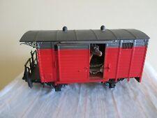 LGB Spur G Gedeckter Güterwagen/Viehwagen Metallradsätze s.Foto o.OVP WH7695