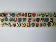 lotto 38 pins LIGUE 1 FOOTBALL CLUB FC lot spille calcio francia france