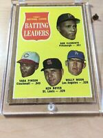1961 Topps #52 National League Batting Leaders 1961 Topps #52 Baseball Card