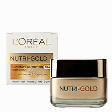 L'Oreal Loreal Nutri Gold Ultimate Nutrition Rich Day Cream All Skin Types 50ml