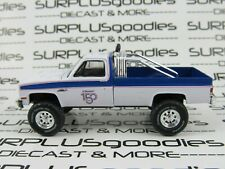 Greenlight 1:64 LOOSE White LIFTED 1985 GMC K-2500 K2500 Squarebody Pickup