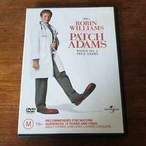 Patch Adams Robin Williams DVD R4 Like New! FREE POST