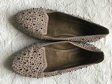 New Look Studded Shoes In Nude Size 6