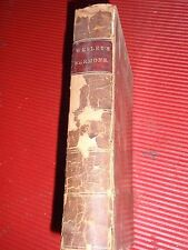 ANTIQUE BOOK WESLEY'S SERMONS ON SEVERAL OCCASIONS 1845  VOLUME 2 RELIGION