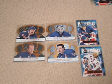 RANGERS (6) LOT '01 POWER PLAY, CROWN ROYALE Mark Messier Fleury Richter Leetch