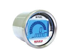Koso Tacho D55 Tachometer LCD Geschwindigkeit Kilometer Tankanzeige JIS Standard