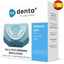 2 x Férula dental de descarga nocturna, anti bruxismo (rechinar los dientes),