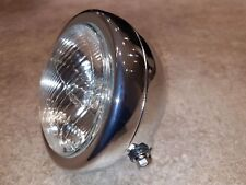 Motorcycle Headlight Lamp 12V Chrome for Suzuki GN125 GN 125