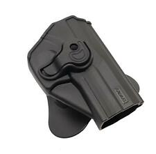 Amomax Airsoft Retention Holster USP Full Size & Compact R/h Black SOFTAIR Uspg2