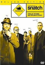 Snatch (DVD, 2006, 2-Disc Set, Deluxe Edition, with Pack-Ins)
