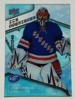 2019-20 Upper Deck Ice Premieres 37/249 Igor Shesterkin Rookie Card