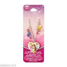Disney Princess Sketch Drawing Heart Locket Pendant Necklace Cinderella Belle