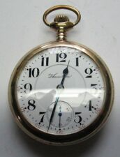Pocket Watch Rgp Case Running Antique Hamilton 940 18s 21j