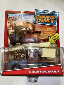 Disney Cars Pixar BLOWING BUBBLES MATER Radiator Springs tow truck