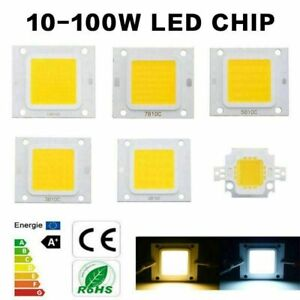 LED Chip COB cool warm white floodlight 10W 20W 30W 50W 70W 100W lamp DC 12V 32V