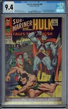 CGC 9.4 TALES TO ASTONISH #90 1ST  APPEARANCE ABOMINATION AND BYRRAH SUB-MARINER