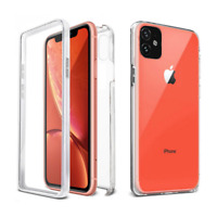 360° Protect Soft Front Cover+PC Back Case Cover For iPhone 11 Pro Max XR 8 7 6S