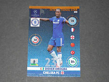 DIDIER DROGBA CHELSEA BLUES UEFA PANINI FOOTBALL CHAMPIONS LEAGUE 2014 2015
