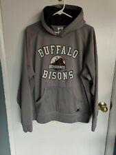 Buffalo Bisons Russell Athletic Men's Gray Hoodie Sweatshirt Minor Leagues