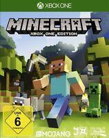 Microsoft Xbox One Spiel - Minecraft DEUTSCH mit OVP