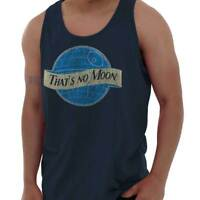 That No Blue Moon Funny Shirt Star Death Star Wars Beer Darth Tank Top