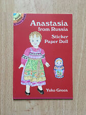 Anastasia from Russia Sticker Paper Doll Dover Little Activity Books New Scrap