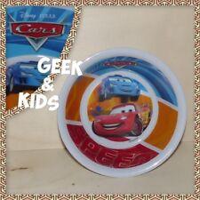 Assiette creuse - Bol enfant - En plastique mélaminé - Disney - Cars - Flash McQ