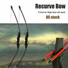 30/40lbs Archery Recurve Bow Takedown Longbow Hunting Target Training Practice