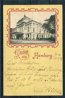 Ansichtskarte Gruss aus Hamburg - 01275