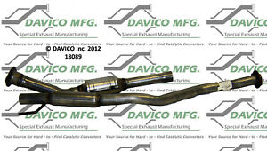 Catalytic Converter-Exact-Fit Davico 18089 fits 00-02 Toyota Celica 1.8L-L4
