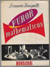 Sinisgalli Leonardo FUROR MATHEMATICUS Il Pensiero Critico / 18 Mondadori 1950