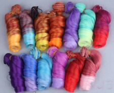 1pc Gradient Color DIY Doll Hair For Monster High Doll DIY Wire Curly Wigs Toy
