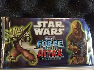 Star Wars Topps Force Attax Booster Packs