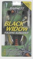 Barnett Black Widow Folding Slingshot Elastic Catapult Outdoors Foldable Wrist