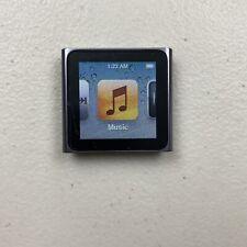 Apple iPod Nano 8gb MC688LL Graphite Gray