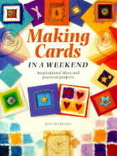 Good, Cardmaking in a Weekend (Crafts in a Weekend), Suckling, Jain, Book