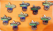 RARE SAMPLES - SET 9 DEDICATION SWIMMING SYDNEY 2000 OLYMPIC GAMES PINS (#77)