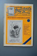 R&L Mag: Picture Postcard Monthly 1989 Aug Allen Daniel Coon/Donald McGill
