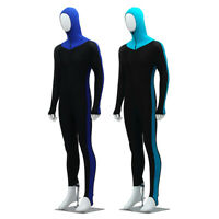 Men Stretch Full Body Wetsuit Surf Swim Diving Steamer Wet Suit With Cap  // -