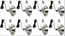 "Deluxe Brooder Lamp Clamp Lights 10.5"" 250 Watt 8 Pack Chicken Warming-Farming"