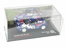 1/43 CITROEN SAXO KIT CAR FFSA Rallye de France Tour de Corse 1999 S. Loeb