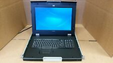 """HP TFT7600 17"""" KVM Console w/AC adapter and Rails"""