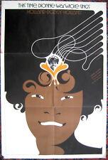 Dionne Warwick Don Weller Promo Poster Just Being Myself Holland Dozier 1973