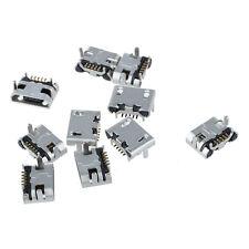 10 Pcs 5 Pin Type B Micro USB Female Jack Port Socket Connector Repair Parts N3