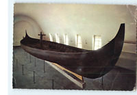 Norway Mittet Postcard Viking Ship Museum Gokstad circ 900 AD Stockholm Nebraska