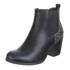 Stiefeletten mit hohem Absatz (5-8 cm)/boots Größe 39