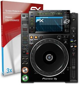 atFoliX 3x Screen Protector for Pioneer CDJ-2000NXS2 clear