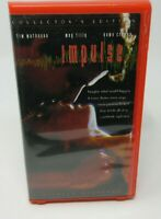 IMPULSE - COLLECTOR'S EDITION VHS VIDEO MOVIE, TIM MATHESON, MEG TILLY, GUC